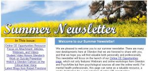 summer newsletter 2013